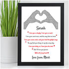 I Love You Personalised Christmas Gifts for Couples Husband Wife Her Girlfriend