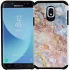 For Samsung Galaxy J7 Refine 2018 Star J7V 2nd Gen Case Marble Color Phone Cover