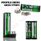 AUTHENTIC PROFILE MESH REPLACEMENT RDA1 MESH STRIPS | 0.18 Ohm Kanthal |