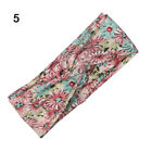 Women Girls Yoga Elastic Turban Floral Twisted Knotted Hair Band Headband NEW