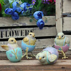 Easter Egg Chicks Ornaments Eggshell Trousers Home Decorative Chicken Figure New