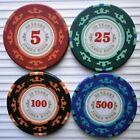 JAMES BOND 007 50th ANNIVERSARY CASINO POKER CHIP GOLF BALL MARKERS - 14g, 39mm £1.85 GBP on eBay