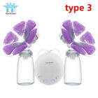 Electric Breast Pump With Milk Bottle Infant USB BPA free Powerful Breast Pumps