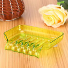 Bathroom Waterfall Soap Dish Storage Plate Tray Holder Case Container Suction CA