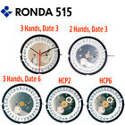 Harley Ronda 515 Quartz Watch Movement, Various Hands and Height (Swiss Parts)   image