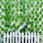 200cm Ivy Leaf Garland Green Plant Plastic Vine Foliage Home Garden Decorations