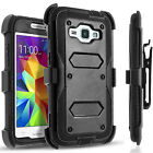 For Galaxy Core Prime Case,Heavy duty Full Cover+Build in Screen Protector