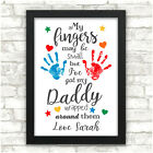 PERSONALISED Christmas Gifts for Dad Daddy Grandad Him from Son Daughter Baby