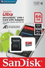 Sandisk Ultra A1 Microsd with Sd Card Adapter