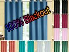 Kyпить Kendal 100% BLACKOUT Foam Back Window Curtain Set - Two Panels All Size / Colors на еВаy.соm