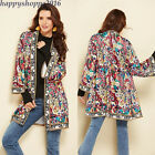 Внешний вид - Mexican Ethnic Vintage Blouse Women Dress Beach Cardigan Coat Muslim Abaya Tops
