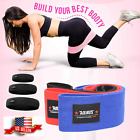 Wide Hip Resistance Bands Loop Circle Exercise Workout Fitness Yoga Booty Leg image