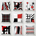 Creative Geometric Polyester Pillow Case Waist Throw Cushion Cover Home Decor