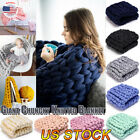 Thick Bulky Wool Yarn Soft Chunky Hand Knitting Hat Scarf Blanket Arm Felt New image