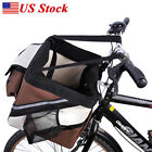 Pet Life Collapsible Pet Dog/Cat Bicycle Bike Carrier With Inner Safety Leash