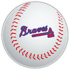 Atlanta Braves MLB Logo Ball Car Bumper Sticker Decal  - 3'' or 5'' on Ebay