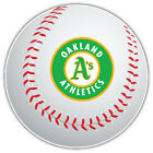 Oakland Athletics MLB Round Logo Ball Car Bumper Sticker Decal-9'', 12'' or 14'' on Ebay