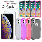 For Apple iPhone X/Xs Case Silicone Hard Armor Bumper iPhone XS Max Soft Cover