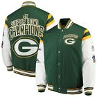 Green Bay Packers 4 Time Super Bowl Champions Home Team Commemorative Jacket on eBay