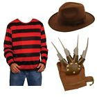 Freddie Krueger Nightmare On Elm Street Film Costume Halloween Artiglio