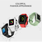 Waterproof Silicone Sport Band & Armor Case For Apple Watch iWatch 2/3 42mm image