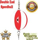 Double End Punch Bag Speed Ball  Punching Speedbag Boxing Speedball CH Leather