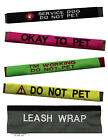 "NORTHERN SAFARI™ Custom Personalized Embroidered LEASH WRAP for 1"" Leash!"