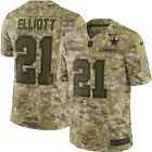 Ezekiel Elliott Dallas Cowboys Nike 2018 Salute to Service Limited Jersey  Camo