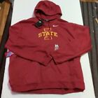 Nike Iowa State Cyclones Hoodie Sweatshirt Sz 3XL New