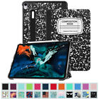 For New iPad Pro 12.9 inch 3rd Gen 2018 Tablet Case Cover Stand w/ Pencil Holder