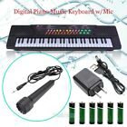 54 Key Digital Music Piano Keyboard Portable Musical Instrument w/ Microphone US