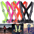 Внешний вид - Safety Reflective Vest Belt Security Straps Night Running Outdoor Sport Stripe