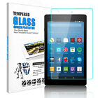 For Amazon Kindle Fire HD 8 8/7th Gen(2018/2017) Tempered Glass Screen Protector