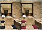 3Piece Set Velvet Memory Foam Bathroom Countour Mat Bath Rug Lid cover ROCK
