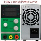 Mini Adjustable Switch DC Power Supply NPS3010D Output 0-30V 0-10A AC110V/220V