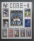 Core 4 Yankees Jeter Rivera Posada Pettitte 20x24 Black Frame or Mat on Ebay
