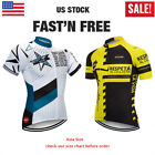Men Bike Cycling Jersey Bicycle Short Sleeve Unique Style Racing Shirt 3 Pockets
