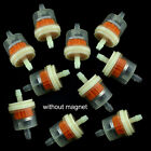 "10pcs Universal Inline Gas Fuel Filter 6MM-7MM 1/4"" Lawn Mower Small Engine $3.31 USD on eBay"