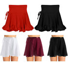Adult Women Chiffon Ballet Wrap Skirt Over Scarf Leotard Tutu Wrap Dance Dresses