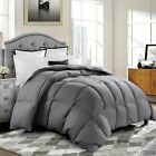GOOSE DOWN ALTERNATIVE SUPERSOFT LUXURY COMFORTER KING QUEEN FULL MULTI-COLOR US image