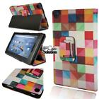Folio Leather Stand Cover Case For Amazon Fire HD 8 with Alexa 2016/ 2017/2018