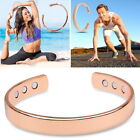 Copper Magnetic Bracelet  Bio Therapy Arthritis Pain Relief Bangle Mens Women UK