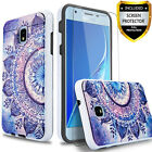 For Samsung Galaxy J3 V Orbit Star Achieve Express Prime 3 Case +Glass Protector