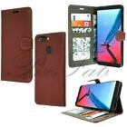 For ZTE Blade V9 New Genuine Premium Black Leather Stand Wallet Phone Case Cover