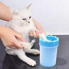 Portable Dog Paw Cleaner Pets Cleaning Brush Cup for Dogs Cat Grooming Supplies