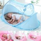 Portable Baby Infant Mosquito Net Tent Mattress Bed Crib Netting Canopy Foldable image