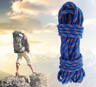 Rosy Clouds 15M(49ft) Diameter 10mm 3KN Safety Rock Climbing Auxiliary Rope US