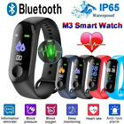 Blood Pressure Fitness Bracelet Activity Tracker Wristband M3 Smart Watch
