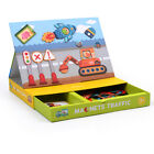 Wooden Cute and Beauty Creative Magnets Puzzle Games Box Kids Safe Non-Toxic