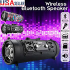 Portable Wireless Bluetooth Subwoofer Speaker Double Horn Stereo Music Player US